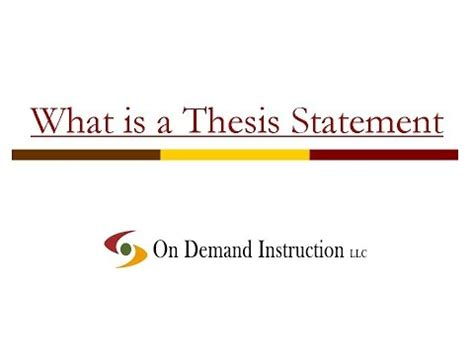How to Write a Thesis Proposal Scribendi