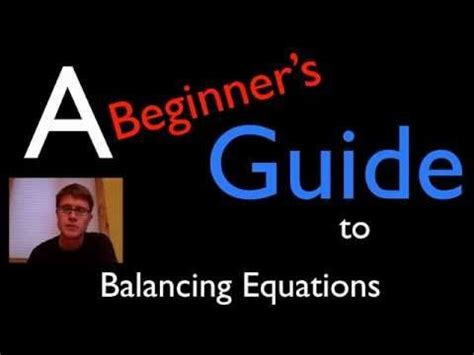 Homework help balancing chemical equations